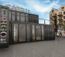 Shipping container retail hub planned for Wapping Wharf