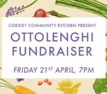 Ottolenghi fundraiser @ Hamilton House: Friday, April 21st