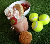Recipe: Wimbledon afternoon tea Freakshake
