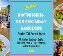Bottomless Bank Holiday BBQ @ Bambalan: Sunday, August 27th