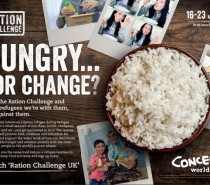 Ration Challenge 2019: Could you eat like a Syrian refugee for a week?