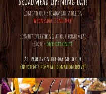 Eat A Pitta in Broadmead reopens on May 22nd