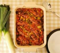 Cooking with British leeks: Wrexham Bake