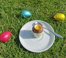Recipe: Cheesecake dippy eggs