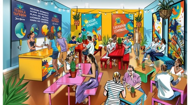 The Jose Cuervo Taproom is coming to Bristol!