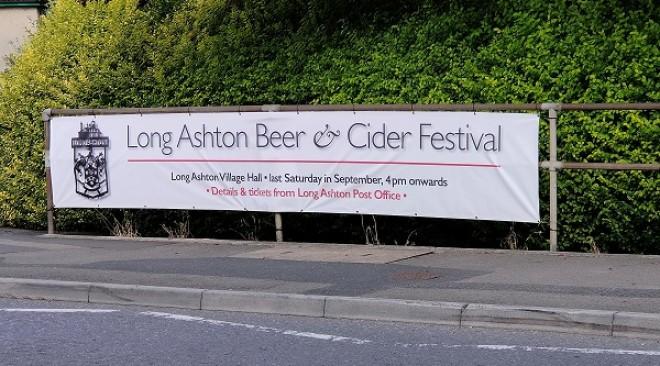 Long Ashton Beer and Cider Festival – Saturday, September 25th