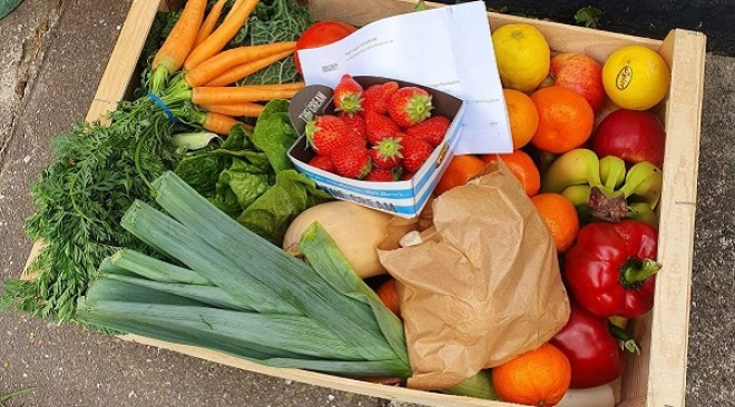 Win a fruit and veg box from Partisan Produce!