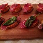 Spanish ham tapas
