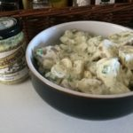 Potato Salad with Tracklements Dill Mustard Sauce